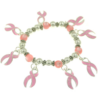 BREAST CANCER PINK BRACELETS | BULK WHOLESALE ITEMS