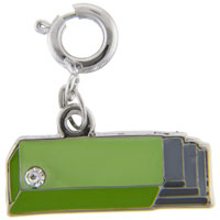 Teens & Kids Jewelry - pack of gum link charm clasp charm Image.