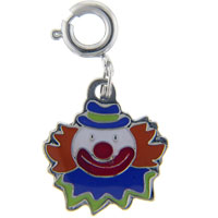 Teens & Kids Jewelry - clown link charm clasp charm Image.