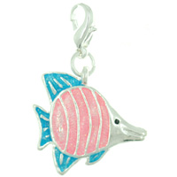 Teens & Kids Jewelry - angel fish bag link charm clasp charm Image.