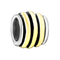 - gold tone striped circle Image.