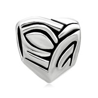 European Beads - austrian heart all brands euro love silver plated beads charms bracelets Image.
