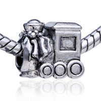 - train pattern european charm bead bracelet Image.