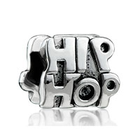 European Beads - hip hop fashion gorgeous all brands euro silver plated beads charms bracelets Image.