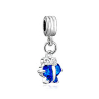 European Beads - december birthstone butterfly dangle european beads all brands charms bracelets Image.