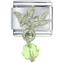 - august peridot color baby angel Image.