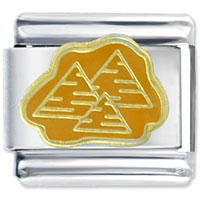 Italian Charms - great pyramids at giza italian charm Image.