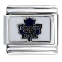 Italian Charms - nhl toronto maple leafs licensed italian charm Image.