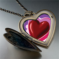 Pugster Valentine's Day- Chocolate Heart Photo Large Pendant Necklace at Sears.com