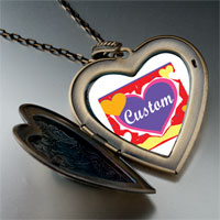 Items from KS - gold plated valentine's day custom hearts photo heart and flower Image.