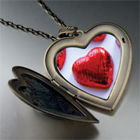 Pugster Wrapped Heart Halloween Candy Large Pendant Necklace at Sears.com