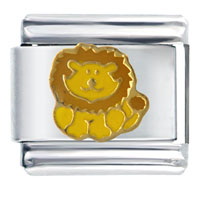 Italian Charms - little lion italian charm Image.