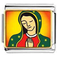 Items from KS - our lady of guadalupe charm photo italian charm Image.