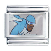 Italian Charms - the incredibles frozone licensed italian charm Image.