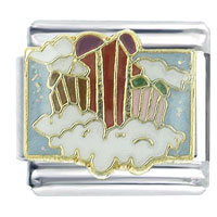 Italian Charms - gift from heaven x2 italian charm Image.