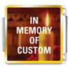 In Memory Of Custom Link Charm Photo Italian Charm