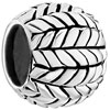 Regular Woven 925 Sterling Silver Beads Charms Bracelets