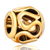 Pugster Golden Pattern European Beads