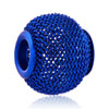 Sapphire Blue Wheel Spacer All Brand Beads Charms Bracelets