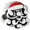 Lovely Santa Silver Plated Beads Charms Bracelets