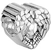 Heart Angel Wing Love Fit All Brands Silver Plated Beads Charms Bracelets