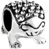Lovely Hedgehog Animal All Brands Silver Plated Beads Charms Bracelets