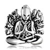 Thousand Hands Bodhisattva Silver Plated Beads Charms Bracelets