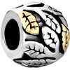 22K Tree Of Life All Brand Two Tone Plated Beads Charms Bracelets