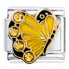 November Birthstone Butterfly Italian Charm