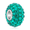 Jewelry Blue Swarovski Crystal Fit Beads Charms Bracelets All Brands