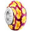 November Yellow Flower February Purple Stripes Polymer Clay Fit All Brands...