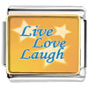 Live Love Laugh Photo Charm Photo Italian Charm