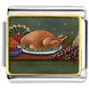 Thanksgiving Food Charm Photo Italian Charm