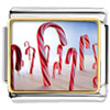 Candy Cane Land Charm Photo Italian Charm