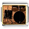 Rock And Roll Drums Charm Photo Italian Charm
