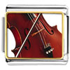 Classical Music Violin Charm Photo Italian Charm