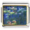 Monet Water Lilies Charm Photo Italian Charm