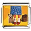 Dorothy'S Red Shoes And Toto Charm Photo Italian Charm