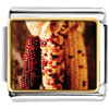 Thanksgiving Indian Corn Charm Photo Italian Charm