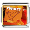 Turkey Card Charm Photo Italian Charm