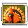 Thanksgiving Candy Turkey Charm Photo Italian Charm