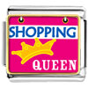 Shopping Queen Charm Photo Italian Charm