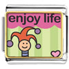 Enjoy Life Joker Charm Photo Italian Charm