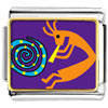 Kokopelli Dance Charm Photo Italian Charm