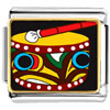 Native American Drum Charm Photo Italian Charm