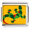 Creative Native American Lizard Charm Photo Italian Charm