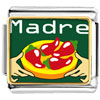 Madre Chili Peppers Charm Photo Italian Charm