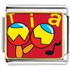Tia Music Instrument Charm Photo Italian Charm