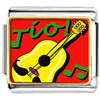 Tio Guitar Music Charm Photo Italian Charm