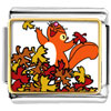 Fall Squirrel Fun Charm Photo Italian Charm